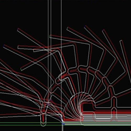 轧辊断面设计图